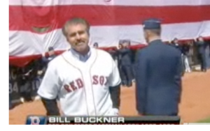 Bill Buckner - opening day at Fenway