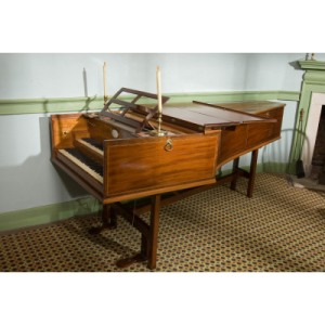 George Washington's harpsichord