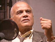 Harry Belafonte at NPR in October 2001  (Photo: David Banks, NPR)